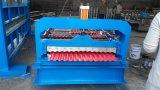 Rullo d'acciaio colorato delle mattonelle del metallo del tetto di PPGI che forma macchina