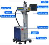 Механизм детали волокна лазерная маркировка машины