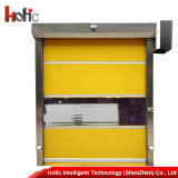 Porte à grande vitesse industrielle automatique d'obturateur de rouleau de PVC