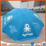Guarda-chuva de marcagem com ferro quente do parasol do pára-sol da promoção do logotipo de Cutom