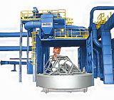 大きい鉄骨構造の車輪の球のクリーニング機械Derusting