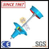 Große Strömungsgeschwindigkeit, Kapazitäts-Edelstahl-vertikale Strömung-Propeller-Krümmer-Pumpe