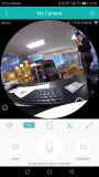 360程度のFisheyeのパノラマ式のカメラHD無線VrのパノラマHD IPのカメラP2pの屋内機密保護のWiFiのカメラ