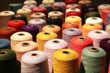 Nilón-Copia coloreada de los hilados de polyester SIM