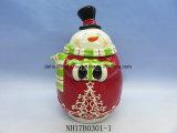 Vaso di ceramica di memoria della Santa per la decorazione di natale