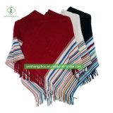 De hete Sjaal van de Mantel van de Vrouwen van de Manier van de Sjaal van de Streep van de Winter van Europa Dik makende