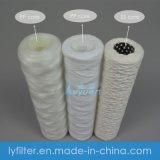 Qualità buona 20 filtro dalla stringa del cotone assorbente del filtro dalla ferita di memoria dell'acciaio inossidabile da 30 pollici per purificazione del filtro da acqua