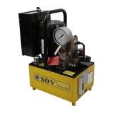 Pompe électrique hydraulique manuelle de la soupape 380V