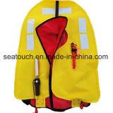Custom персональные портативные надувной спасательный жилет для спасательные шлюпки