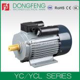Электрический двигатель старта конденсатора одиночной фазы серии Yc одобренный Ce