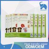 Umdruckpapier-Sublimation-Papier der Wärme-A4 für Wärmeübertragung höhlt Hut-Kleidung