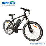 26 pouces VTT vélo électrique avec le milieu de moteur et contrôleur intégré