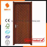 Heiße Verkaufs-Qualitäts-feste hölzerne Tür mit Form-Entwurf