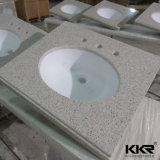 アクリルの石造りの樹脂の固体表面の浴室のカウンタートップ