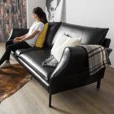 Sofà di cuoio di Seater di disegno moderno 3 per mobilia domestica (HC-X10)