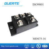 Mds in drie stadia 75A 1600V van de Module van de Diode met ISO9001