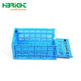 Armazenamento dobrável flexível de alta qualidade da Cesta de dobragem de plástico