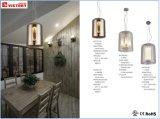 Moderner neuer Entwurfs-einfacher Glasleuchter-lebende hängende Lampe