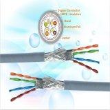 FTP/UTP Cat5e Cable LAN o cable de red 4X2X0.5mm Bc pasar la prueba de Fluke Tia