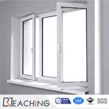 에너지 효과 UPVC에 의하여 이중 유리로 끼워지는 여닫이 창 Windows Pw031