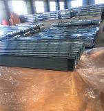 屋根ふきのための電流を通された波形の鋼板