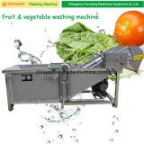 カッサバのポテトのピーラー機械を洗浄している中国のにんじんのショウガのルート野菜