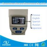 ISO 11784および11785 134.2kHz手持ち型動物RFIDの読取装置