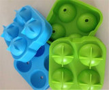Molde da esfera de gelo do silicone das pilhas 50mm de Sy04-01-004 FDA 4