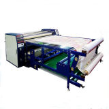 camiseta neumática rotatoria de la máquina de transferencia de la prensa de la resina del calor de 1800m m