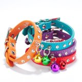 Pet Product Doggy Supply Colorful Cheap PU Dog Collar