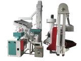 小型米の処理機械または米製造所のプラントか穀物の処理機械