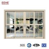 Aluminio recubierto de polvo profesional puertas corredizas Patio residencial