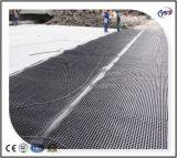 Placa impermeável da drenagem da ondulação do telhado verde plástico HDPE/HIPS
