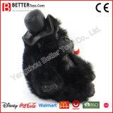 Jouet mou fait sur commande de gorille de peluche de peluche pour la promotion