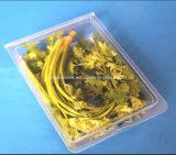 安全食品等級の卸売のプラスチック使い捨て可能なハーブのクラムシェル