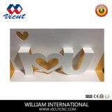 Tagliatrice a base piatta di carta del PVC del cartone 6090