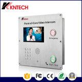 Promoção de intercomunicador de vídeo VoIP ponto ajuda Knzd-70ipil Ponto de atendimento hospitalar