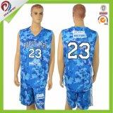 Secado rápido Fitness 100% poliéster sublimación el baloncesto Jersey de desgaste