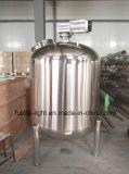 Grau alimentício tanque agitado em aço inoxidável fermentador