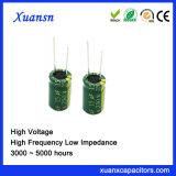 250V 15UF de Lage Hoge Frequentie van de Condensator van de Impedantie Elektrolytische