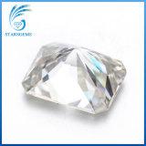 팔각형 모양 광점은 싼 가격에 8X10mm 3cts Moissanite 다이아몬드를 잘랐다