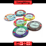 Bronceado Poker fichas de póquer (YM-CP020-21)