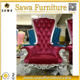 Commerce de Gros Roi et Reine de mariage trône des chaises pour la vente