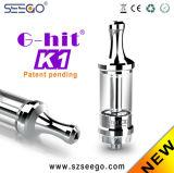 La mode neuve de Seego G-A heurté la mèche de K1 Bastos Vape Pinoy avec le réservoir en verre