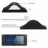 La lumière IP65 d'opération de garantie de lumière de frontière de sécurité de jardin d'énergie solaire de 16 DEL imperméabilisent la lumière solaire de mur de lumière de détecteur de mouvement de PIR avec la lumière obscure