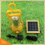 A Luz Solar de emergência recarregável exterior 35 LEDs Camping lanterna portátil