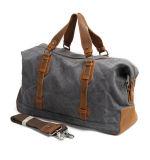 Гуандун из натуральной кожи на заводе в выходные дни дорожная сумка для использования вне помещений спорта Duffel Canvas Duffle Bag (RS-82029K)
