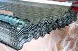 Оцинкованный гофрированный стальных листа крыши