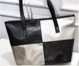 Handbag対照カラー女性ショルダー・バッグのトートバック