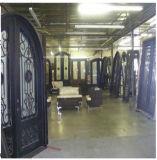 工場側光が付いている直接Wroughの鉄のゲート